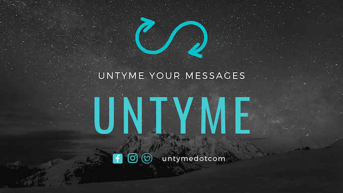 Buy more message credits on Untyme.com